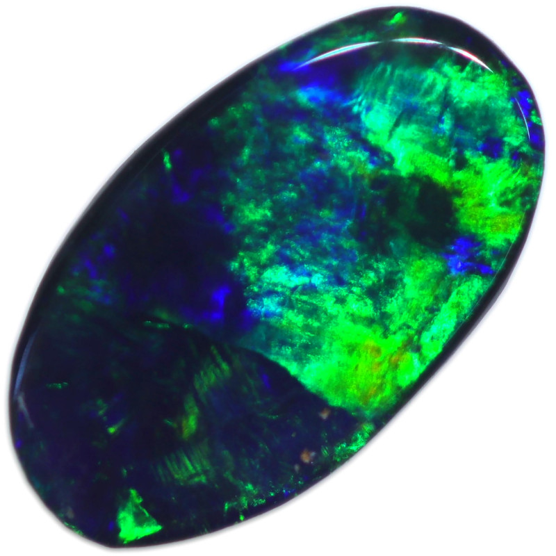 0.44 CTS BLACK OPAL STONE-FROM  OLD COLLECTION- [LROG819]