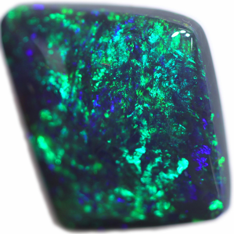 3.31 CTS BLACK OPAL STONE-FROM  OLD COLLECTION- [LROG834]