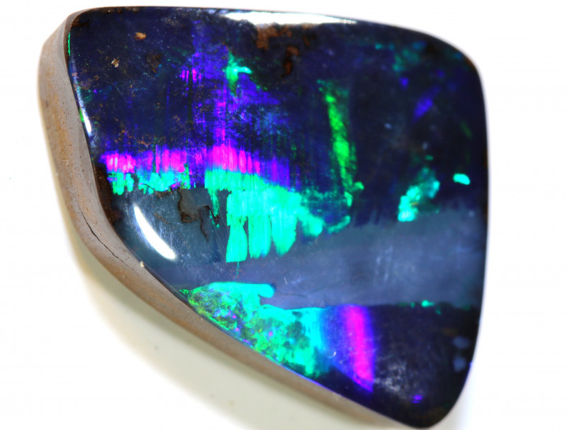 9.45 CTS QUALITY  BOULDER OPAL POLISHED STONE INV-534 GC