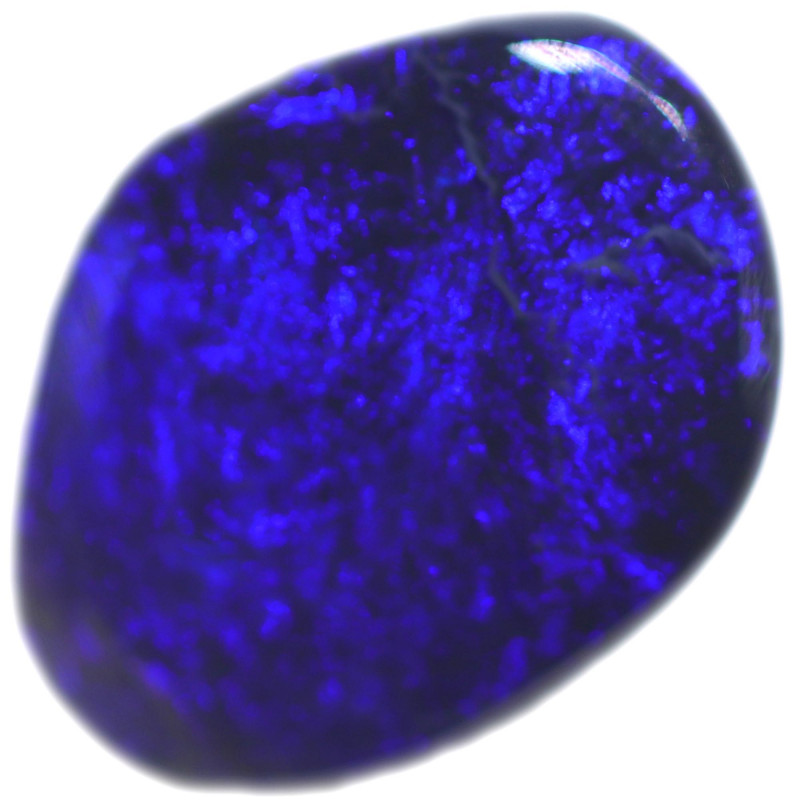 1.07 CTS BLACK OPAL STONE-FROM  OLD COLLECTION- [LROG842]