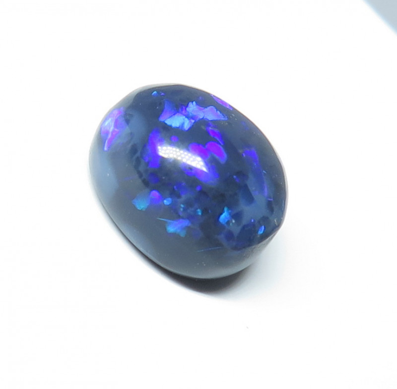 3.10ct Lightning Ridge Black Opal stone