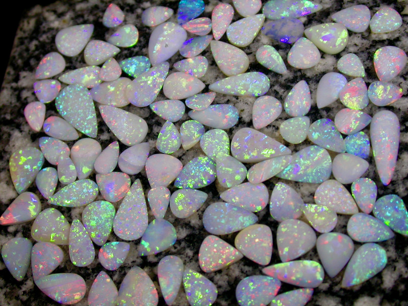 132ct HIGHEST QUALITY HANDPICKED FROM LAST 2 YEARS TEARDROP  OPAL
