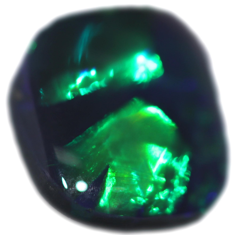 0.95 CTS BLACK OPAL STONE-FROM  OLD COLLECTION- [LROG863]