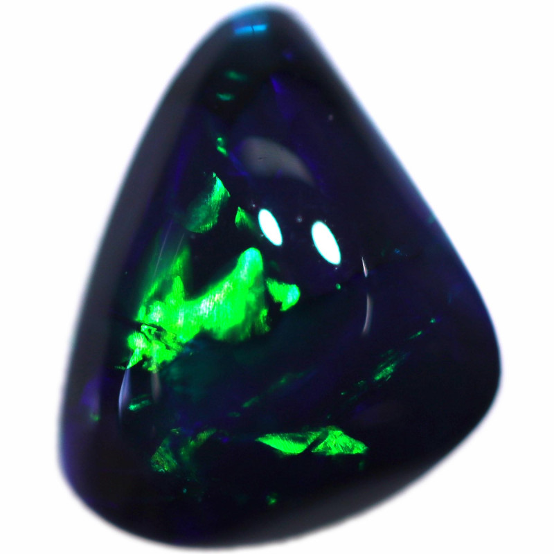 0.85 CTS BLACK OPAL STONE-FROM  OLD COLLECTION- [LROG870]
