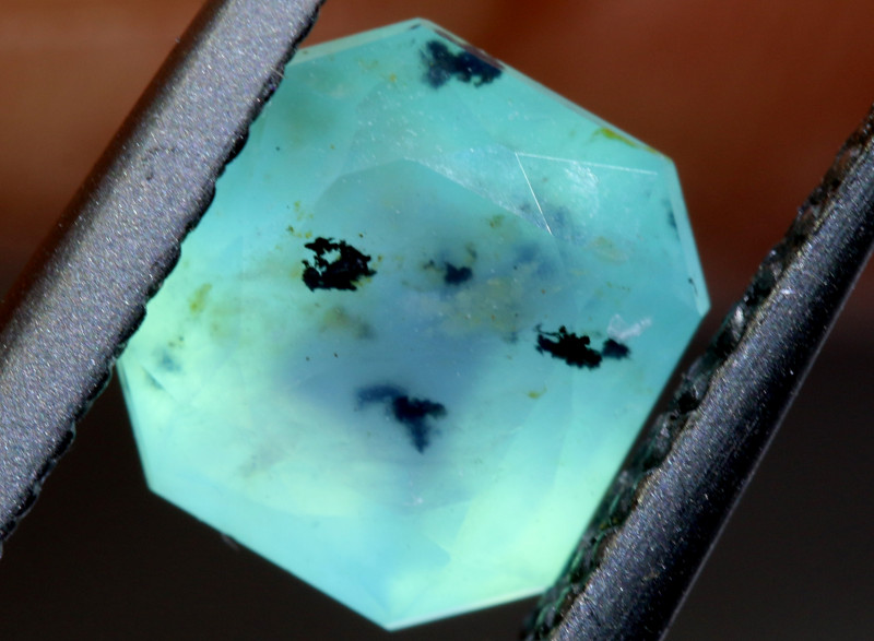 1.12 -CTS  PERUVIAN OPAL FACETED TBO-10011