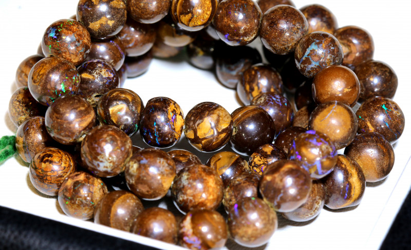 155 CTS BOULDER OPAL BEADS  STRANDS TBO-10021