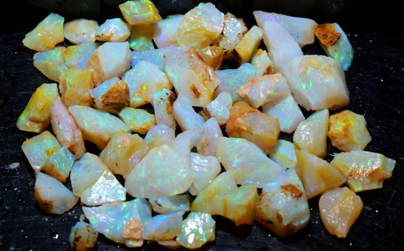 150 CTS OPAL INLAY ROUGH  WHITE CLIFFS DT-9241