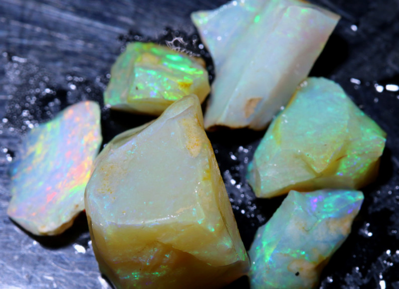 20 CTS OPAL INLAY ROUGH  WHITE CLIFFS DT-9249
