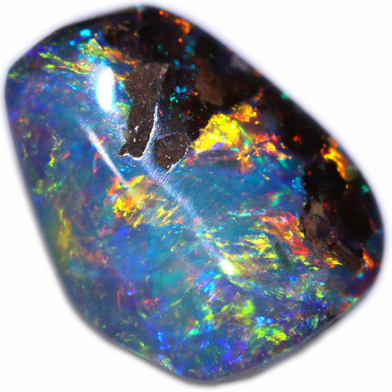 1.14 CTS BOULDER OPAL STONE FROM OLD COLLECTION [BMA8579]