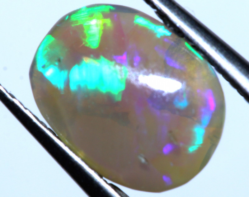 N6  - 1.20 CTS - DARK  OPAL POLISHED STONE L. RIDGE TBO-10110