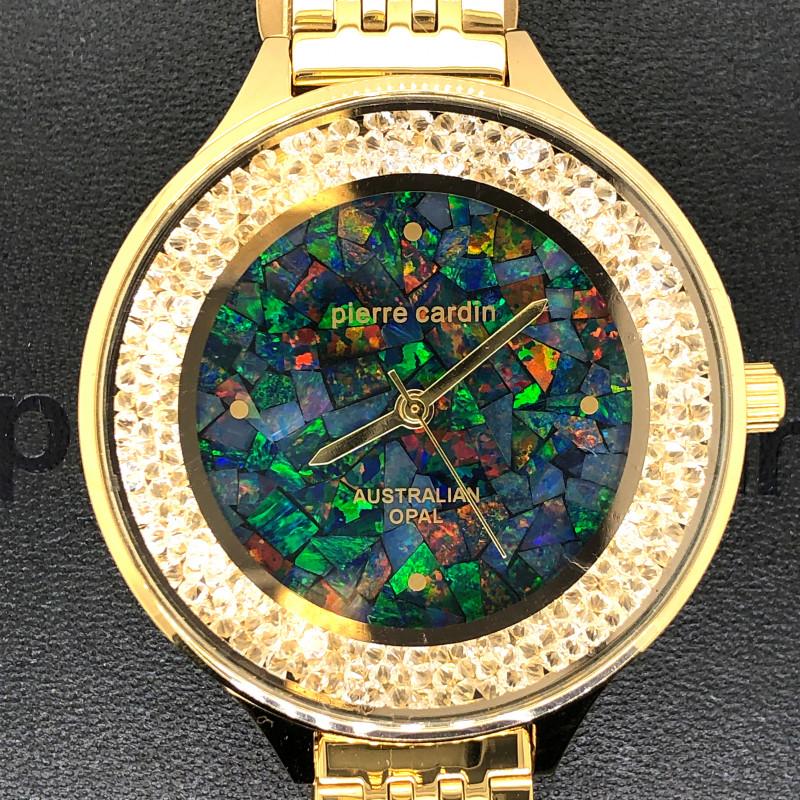 Original Ladies Gold Opal Watch Mosiac Opal - WO 20