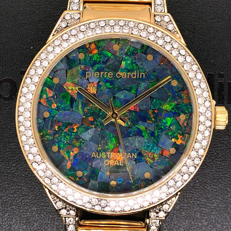Original Ladies Gold Opal Watch Mosiac Opal - WO 24