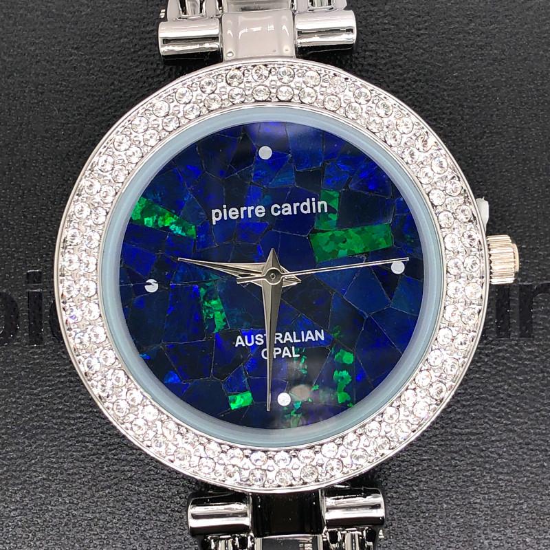 Original Ladies Silver Opal Watch Band Crystal - WO 27
