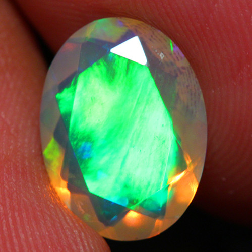 2.00 CT Extra Fine Quality Faceted Cut Ethiopian Opal -DF248