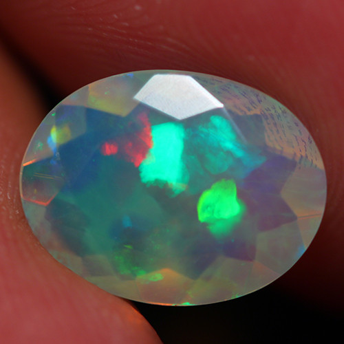 1.75 CT INVESTMENT GRADE AAA Quality Faceted Cut Ethiopian Opal -DF252