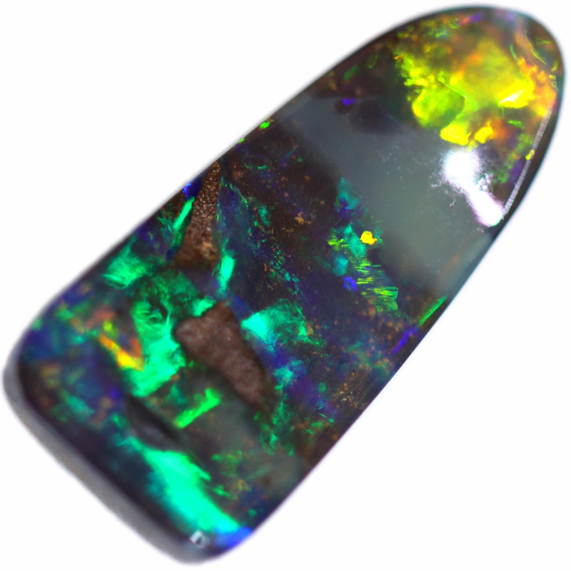 3.39 CTS BOULDER OPAL STONE FROM OLD COLLECTION [BMA8604]