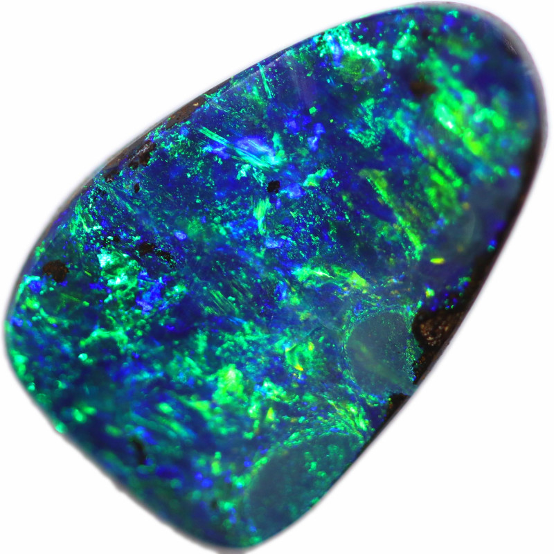 2.77 CTS BOULDER OPAL STONE FROM OLD COLLECTION [BMA8609]
