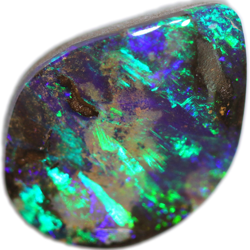 5.40 CTS BOULDER OPAL STONE FROM OLD COLLECTION [BMA8614]