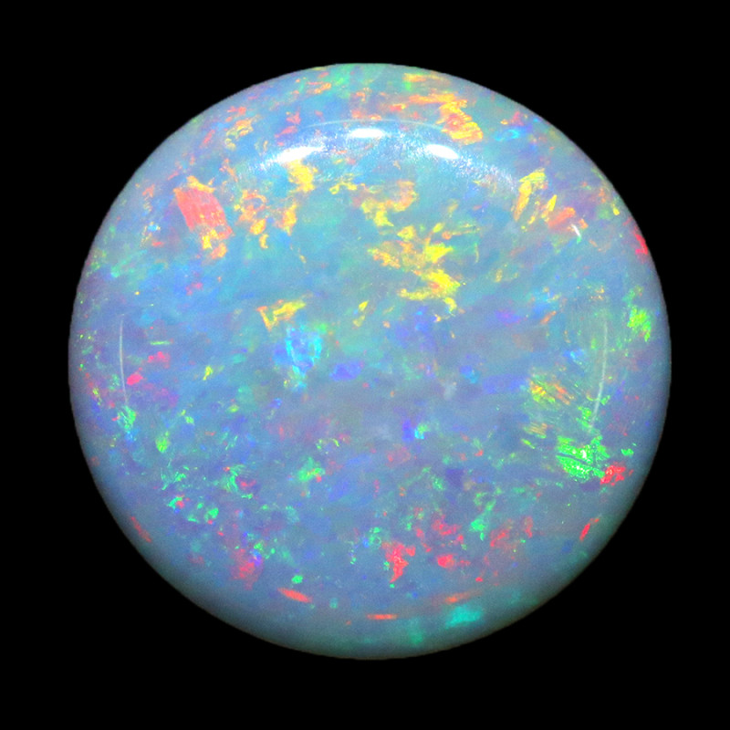 1.85CTS COOBER PEDY OPAL GREAT COLOUR PLAY  S1256