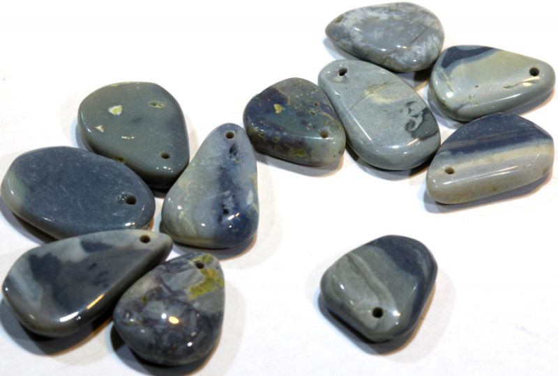 276 CTS BLACK OPAL BEADS (PARCEL) DRILLED  ADO-4848