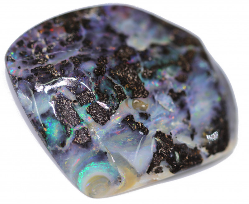 150.15 CTS WELL POLISHED BOULDER OPAL STONE-[SO5]