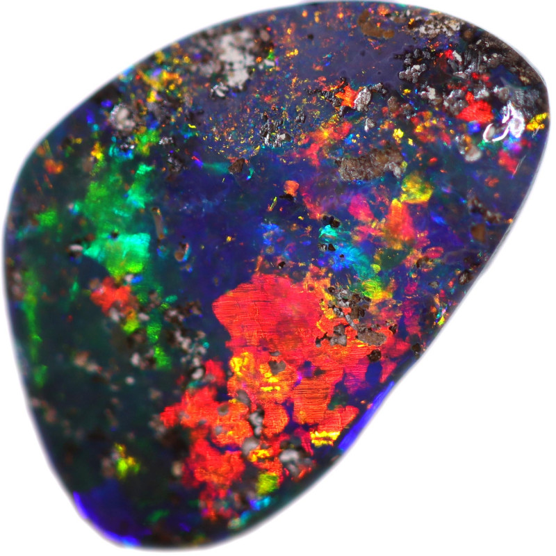 1.29 CTS BOULDER OPAL STONE FROM OLD COLLECTION [BMA8696]