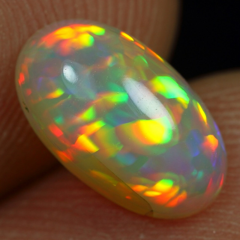 1.40cts Top 5/5 Cell Pattern Natural Ethiopian Welo Opal