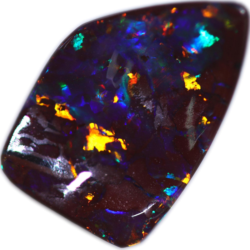 3.53 CTS BOULDER OPAL STONE FROM OLD COLLECTION [BMA8748]