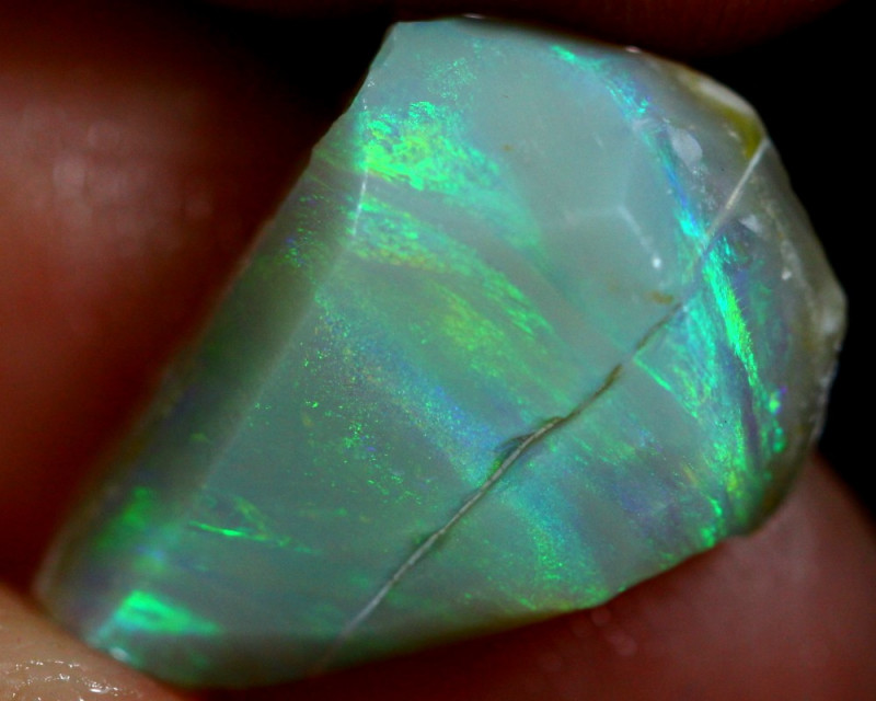 3.50cts Australian Lightning Ridge Opal Rough / WR146
