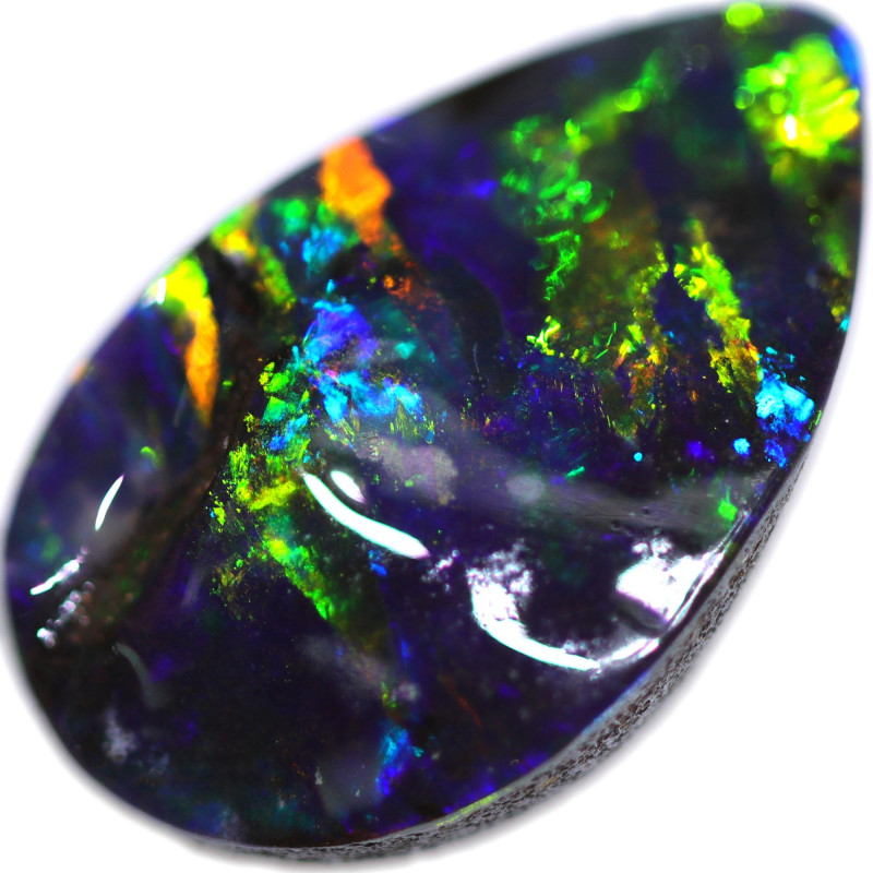 3.76 CTS BOULDER OPAL STONE FROM OLD COLLECTION [BMA8759]