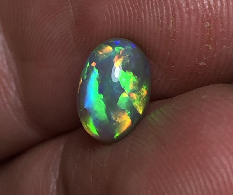 2.12ct Lightning Ridge Crystal Opal FM206