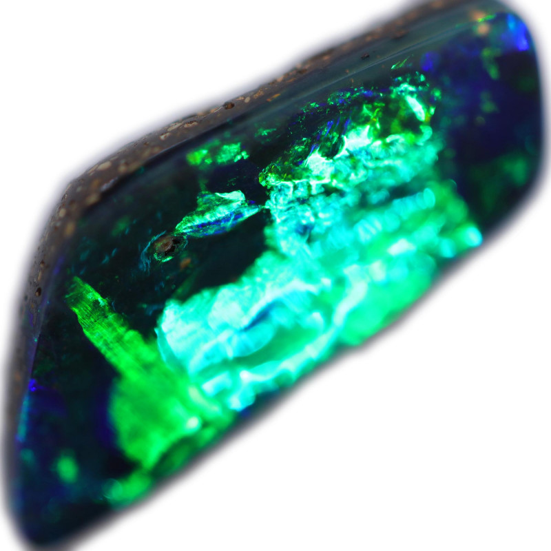 3.41 CTS BOULDER OPAL STONE FROM OLD COLLECTION [BMA8764]