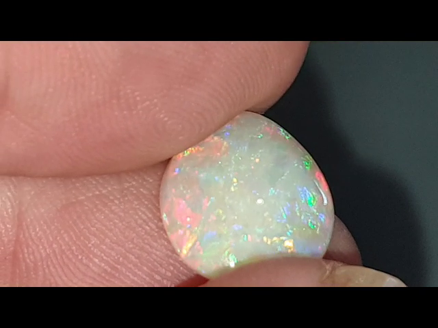 4.9 Ct Crystal Opal from Coober Pedy Seven Mile Mine.  JR