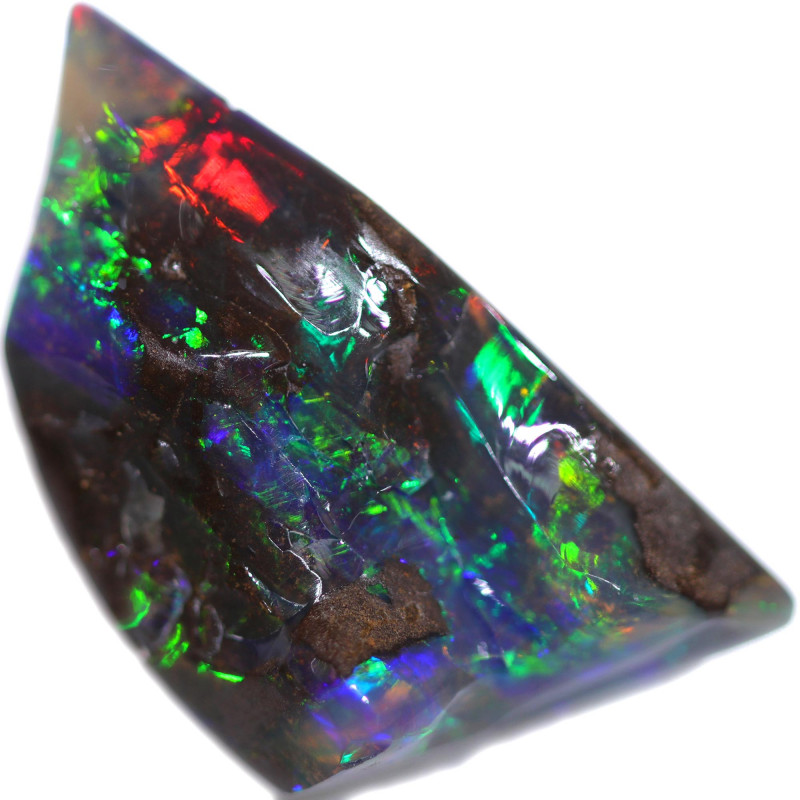 32.44 CTS BOULDER OPAL STONE FROM OLD COLLECTION [BMA8785]