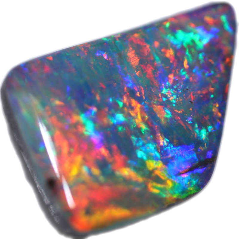 10.09 CTS BOULDER OPAL STONE FROM OLD COLLECTION [BMA8782]