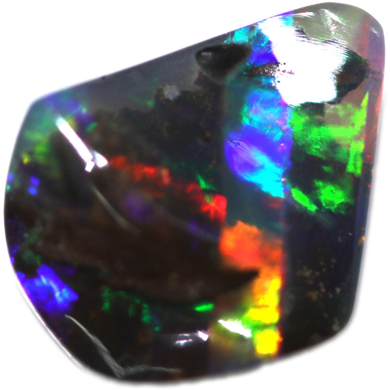 4.66 CTS BOULDER OPAL STONE FROM OLD COLLECTION [BMA8775]