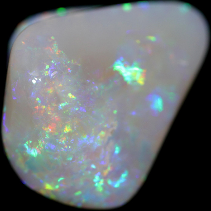 19.40 Cts Shell Patch Opal-Out Back Opal Hunters  OPJ 2829