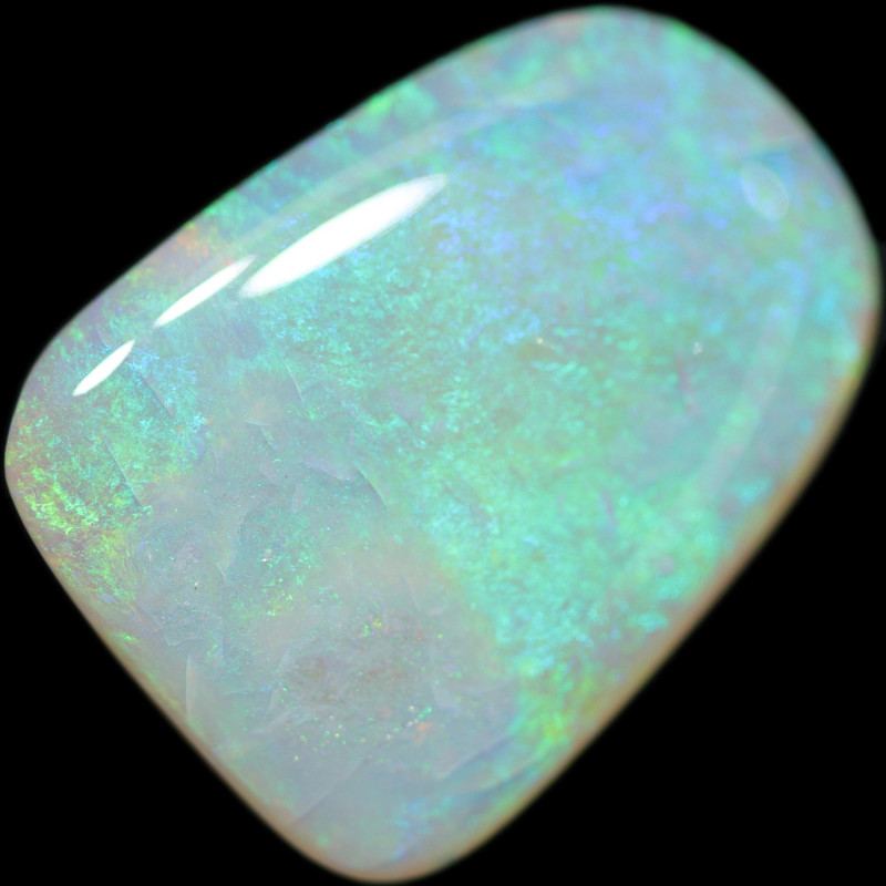 8.80 Cts Shell Patch Opal-Out Back Opal Hunters  OPJ 2858
