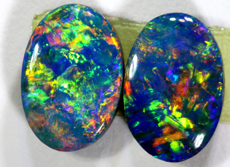 1.03 CTS   OPAL DOUBLET PAIR  LO-5480