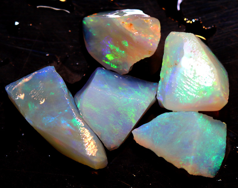14.90  CTS L.RIDGE OPAL INLAY ROUGH PARCEL DT-9394