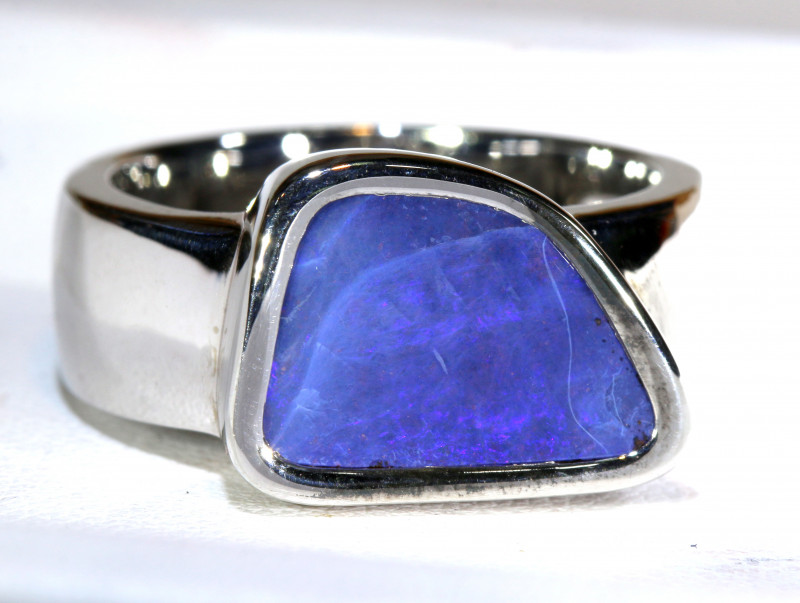 62.80 CTS  BOULDER OPAL UNISEX RINGS    10.50  SIZE  OF-164