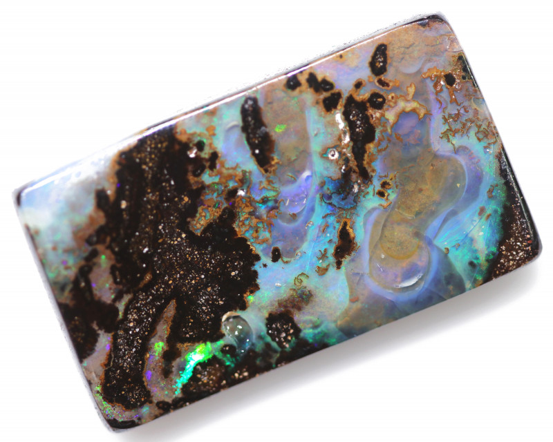 46.05 CTS BOULDER OPAL-WELL POLISHED [BMA8888]