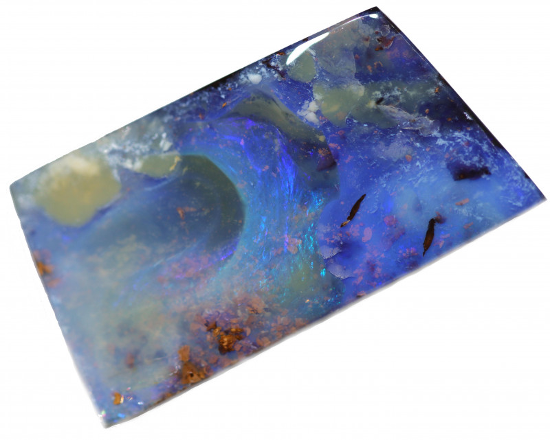 56.65 CTS BOULDER OPAL-WELL POLISHED [BMA8990]