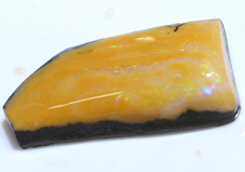 67- CTS  CARAMEL BOULDER OPAL  ROUGH   DT-9531