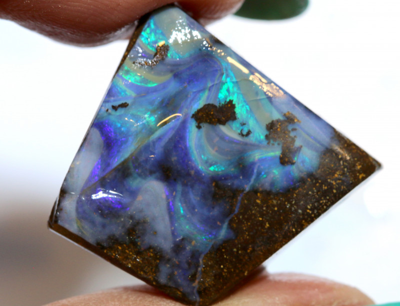27.05 - CTS  BOULDER OPAL  ROUGH   DT-9570