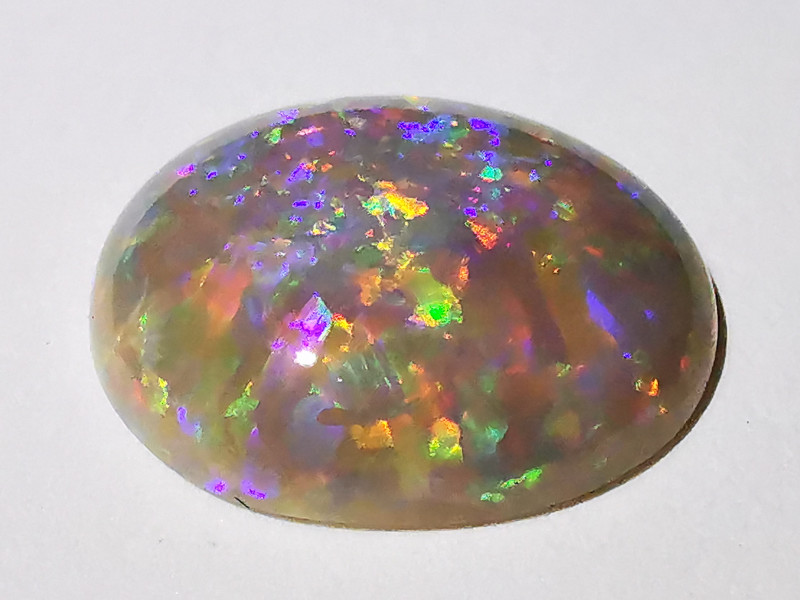 Gem Quality Solid Dark Crystal Opal - Australia Lightning Ridge  - 2.5 cts