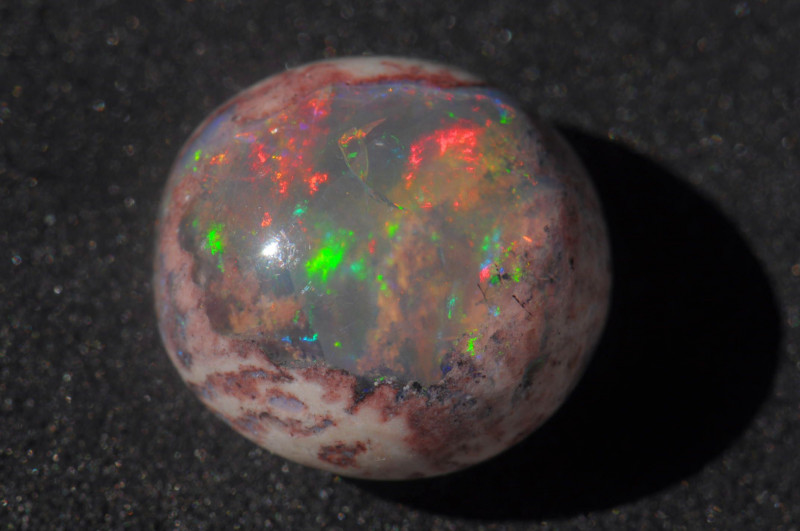 8.5ct Mexican Matrix Cantera Multicoloured Fire Opal