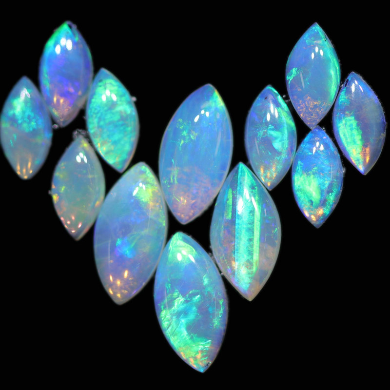 3.08 CTS COOBER PEDY SOLID OPAL CALIBRATED PARCEL [SEDA2532]
