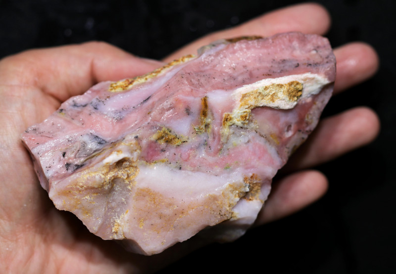 1490.00 CTS  LARGE PINK OPAL  ROUGH FROM PERU  [F8413]