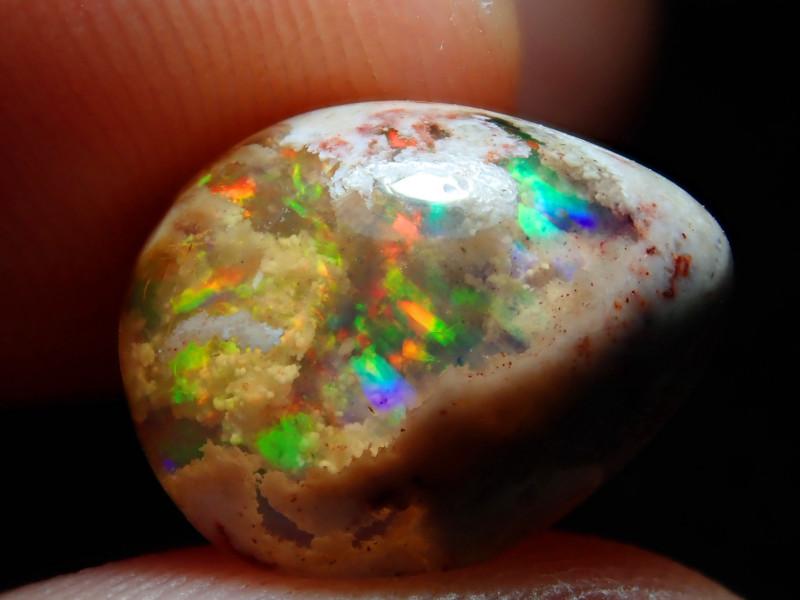 4.54ct. Mexican Matrix Cantera Multicoloured Fire Opal
